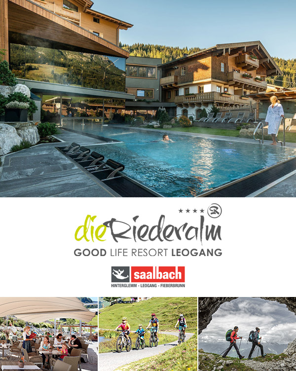 Hotel Die Riederalm - Sommerurlaub im Babyhotel in Leogang im Salzburger Land