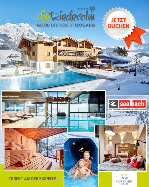 Baby-Hotel Die Reideralm - Winterurlaub Family-Hotel Leogang